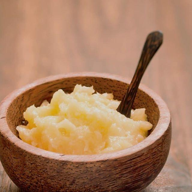 aceite de coco en pasta