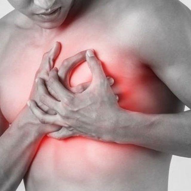 sintomas de un infarto al corazon