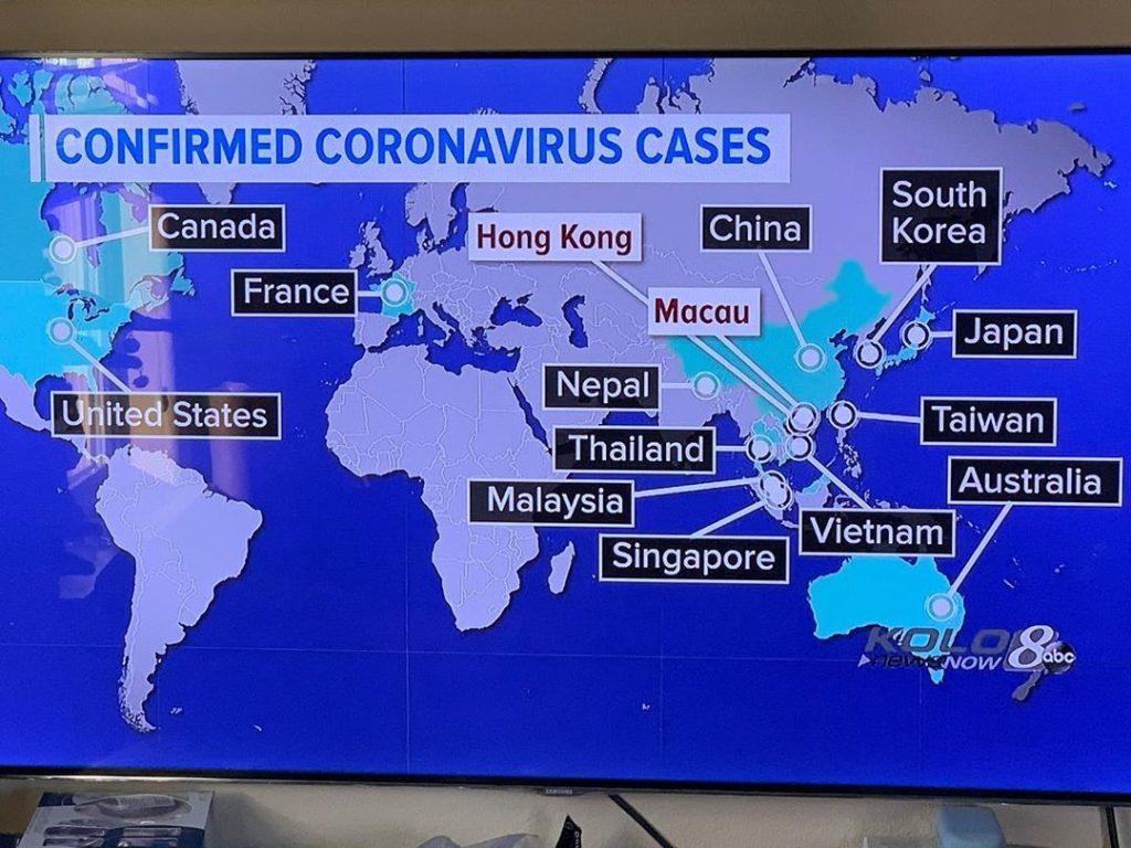 países afectados