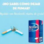 Mejores chicles de nicotina para dejar de fumar